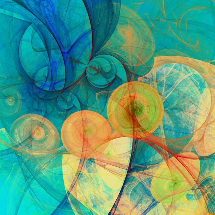 Abstract Composition 324