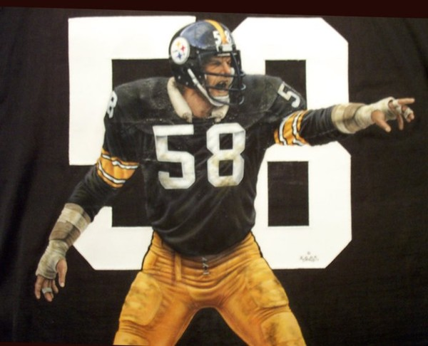 94a6f7648 Jack Lambert Jersey by Tommy Pons