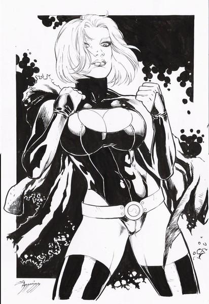 Power Girl Dark Very Sexy By Amorim Di Amorim  Artwantedcom-6260