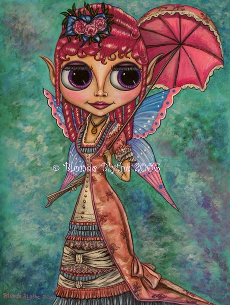Pink Victorian Fairy