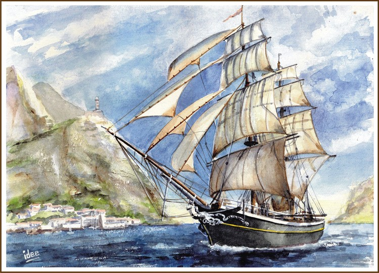 The brig Morgenster