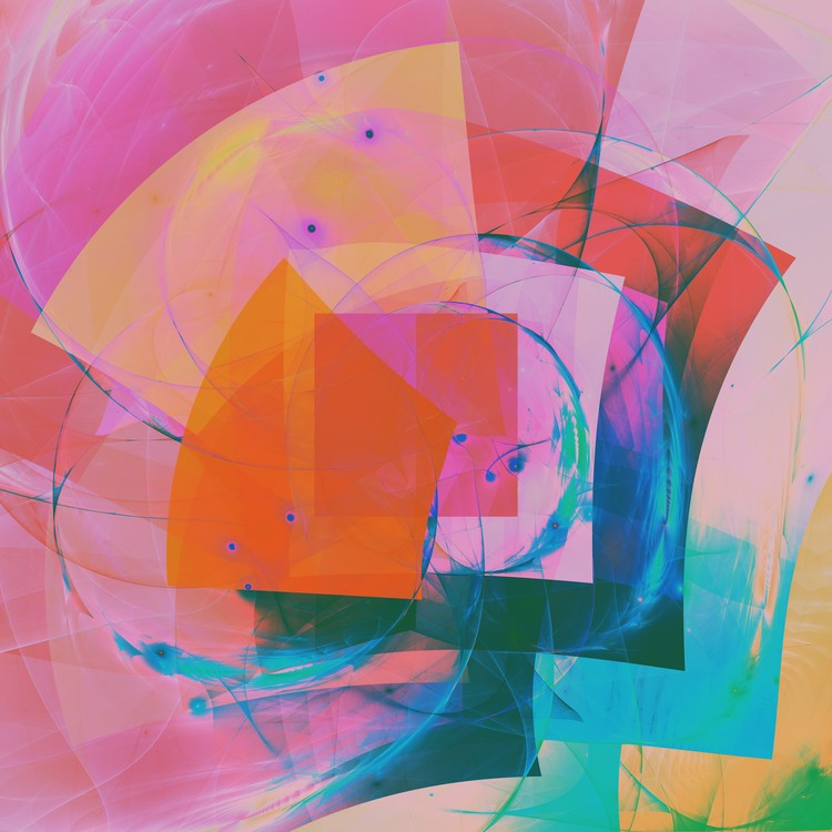 Abstract Composition 341