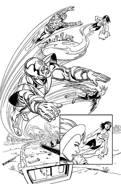 DC Comics Convergence: Infinity, Inc.