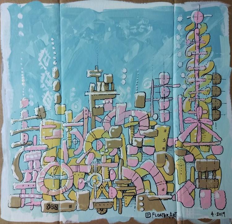 Marshmallow Skyline