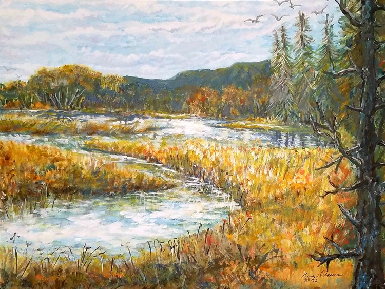 Wetlands in the Fall