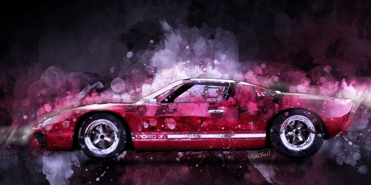 Ford GT 40 Night Moves