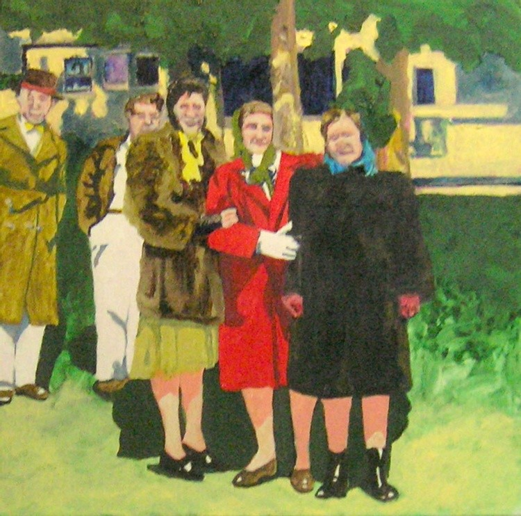 The 'R' Brothers & Their Wives, Holiday Makers