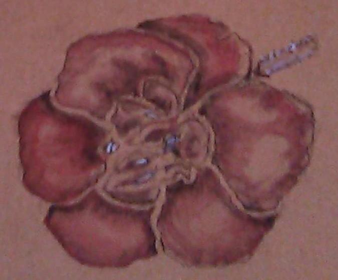 Geranium Watercolor