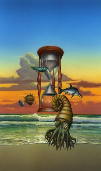 Prehistoric Sea Animals - Custom Phone Case Art