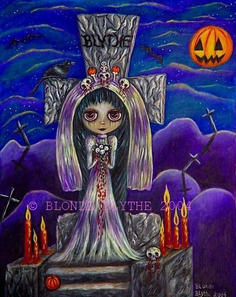 Halloween Blythe Suicide Bride