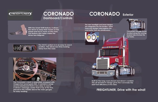 Freightliner 2 page spread