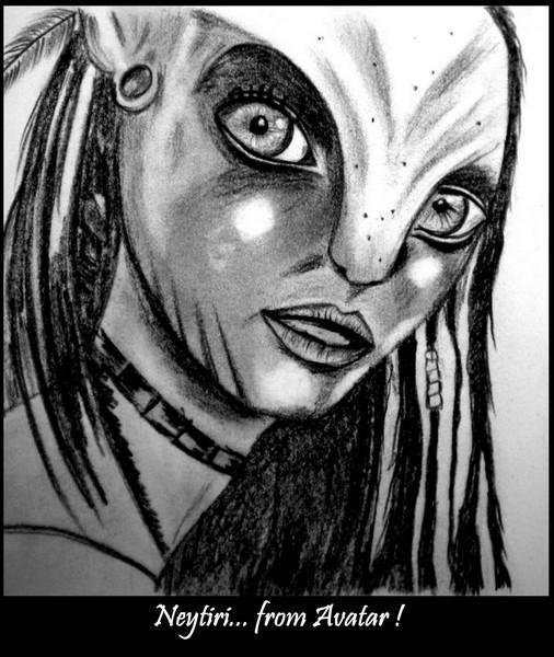 Neytiri ..From Avatar !