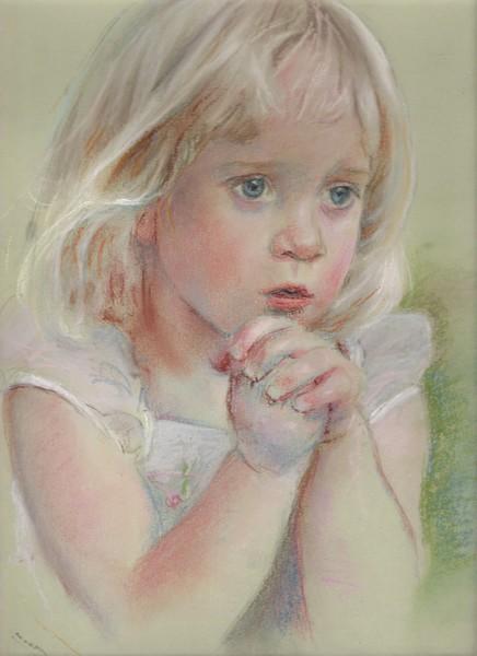 Portrait of a child (custom commission)