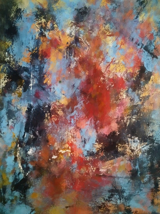 Abstract Composition 847