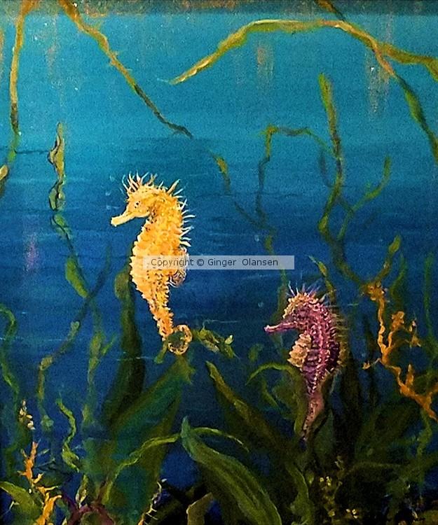 The Golden Sea Horse