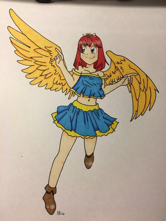 Queen Angel Gabrielle Leeloo Roele