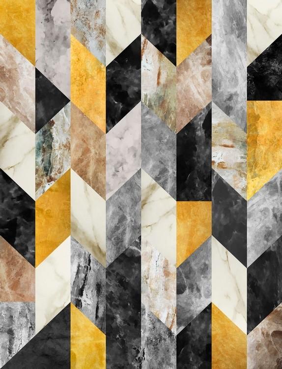 Marbled Geometric