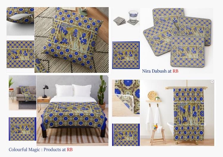 Blue Irises - Products