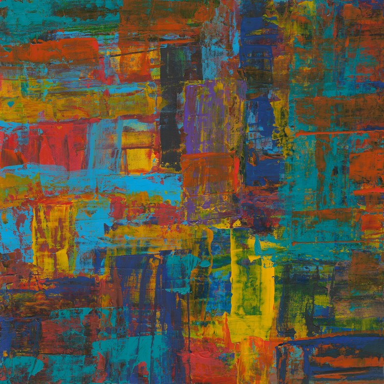 Abstract Composition 737