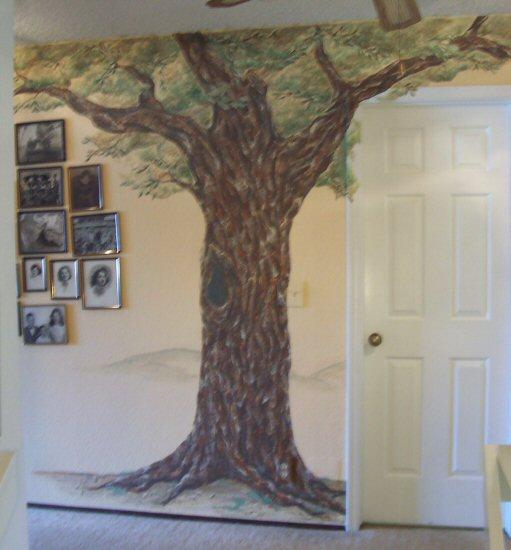 Oak Tree Mural By Vanessa Barrett Artwanted Com