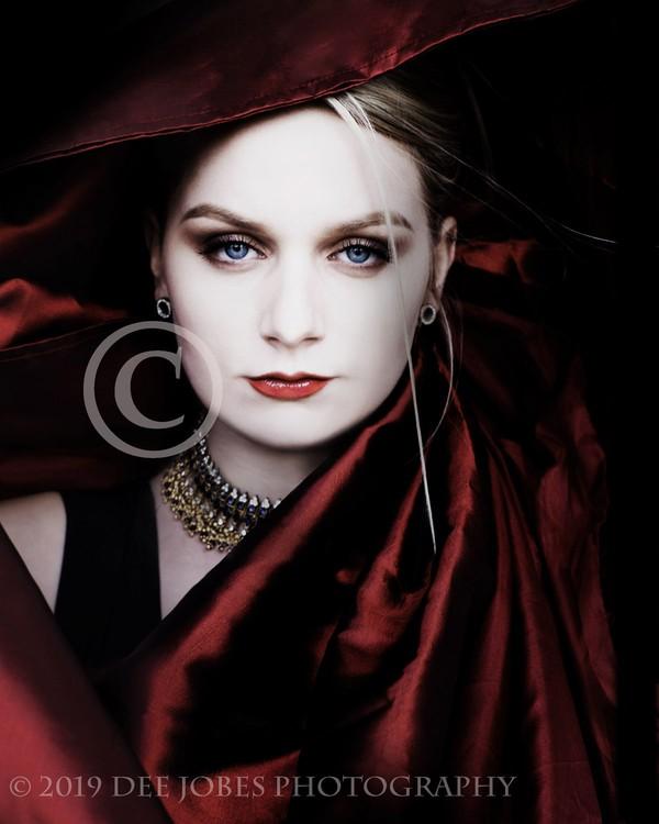 Beauty and Fashion  Model Portrait