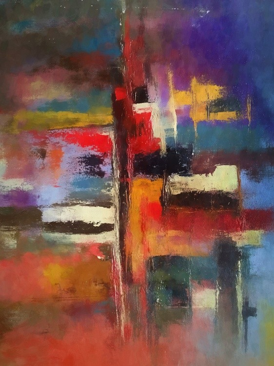 Abstract Composition 846