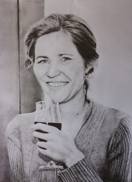 Portrait of a Friends Wife