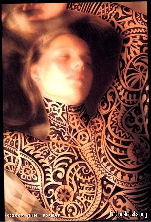 Henna Tattoo Full Body Polynesian Tattoo Design By Jimmy Formas