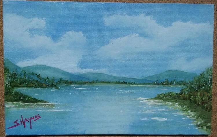 A lake somewhere...