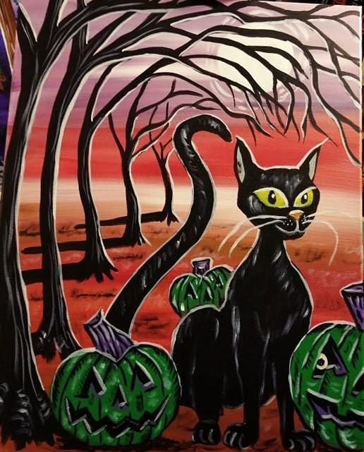 Cat-O-Lanterns