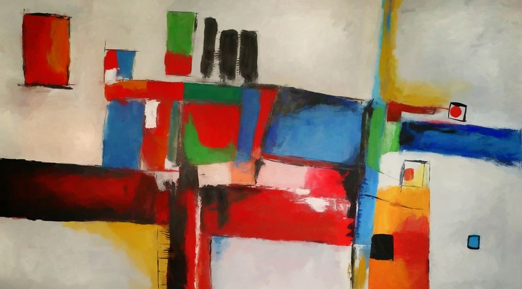Abstract Composition 757