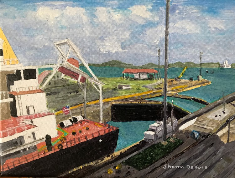 Gatun Locks & Lake Panama Canal
