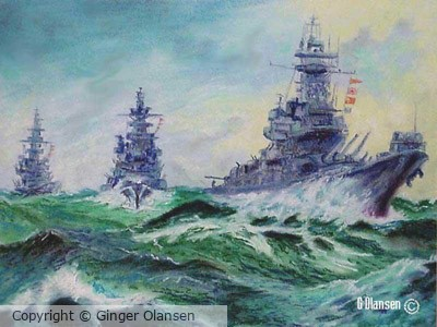 FFG Frigate Warships, US copyright by GO (sold)