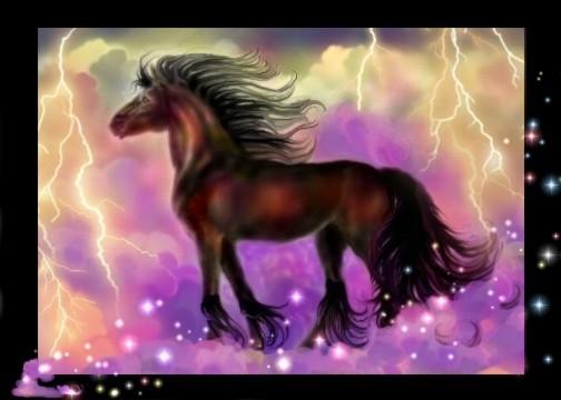 The favorite horse of ZEUS!...BIG BOLT!