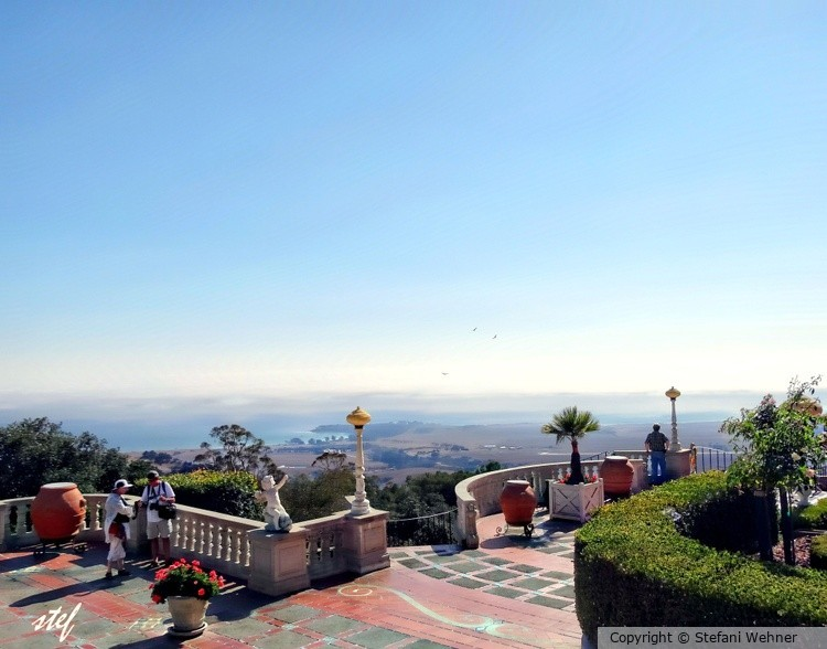 Pacific view  from Hearst castle