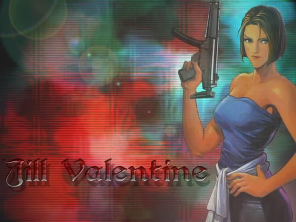 Jill Valentine - WOW!