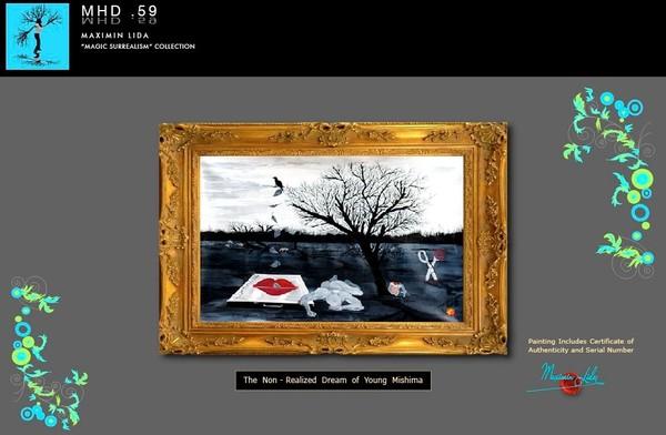 Magic - surrealism Y. Mishima Dream