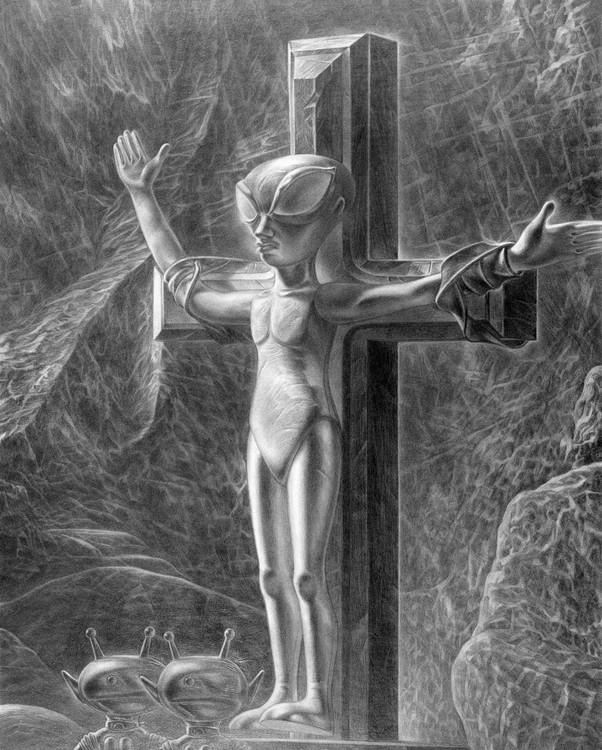 Crucified Alien