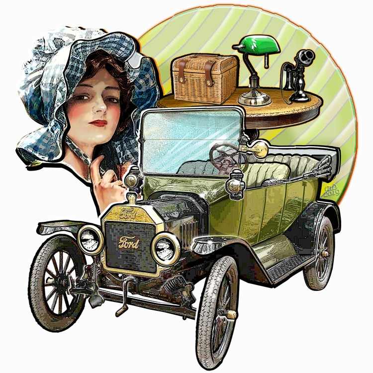 1916-Ford Model T