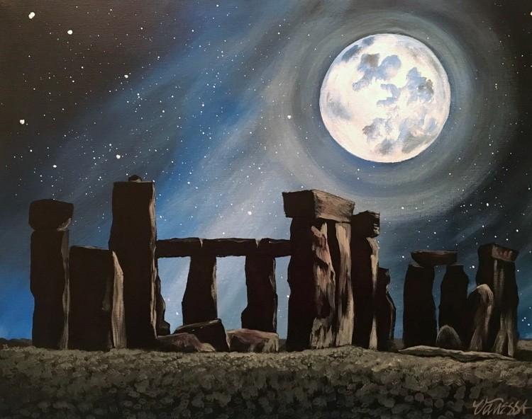 Stonehenge - Magic by Moonlight