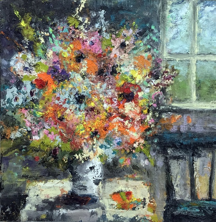 Room with Flowers