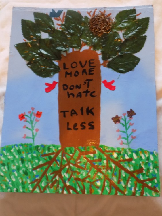 The Wisdom Tree Love More Dont Hate, Talk Less