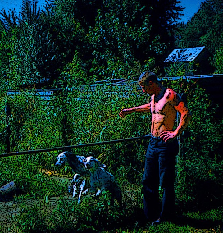 Fred and Hunting Dogs