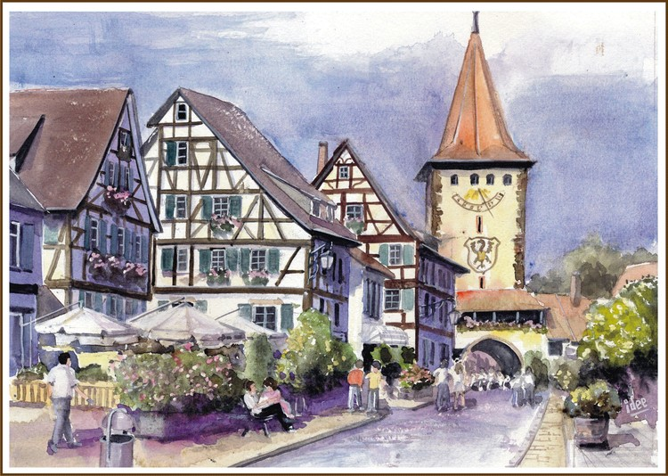 The historical centre of Gengenbach