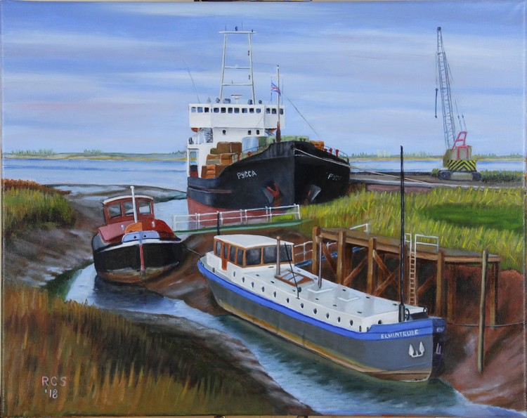 Boats at Barrow Haven