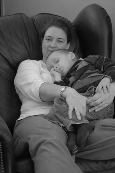 Karen and Noah circa 2007