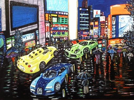 Tokyo Midnight Rain Album Cover