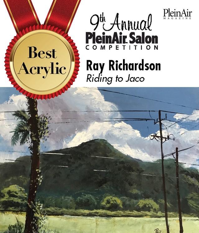 Awarded best Acrylic by Plein Air Salon May 2020