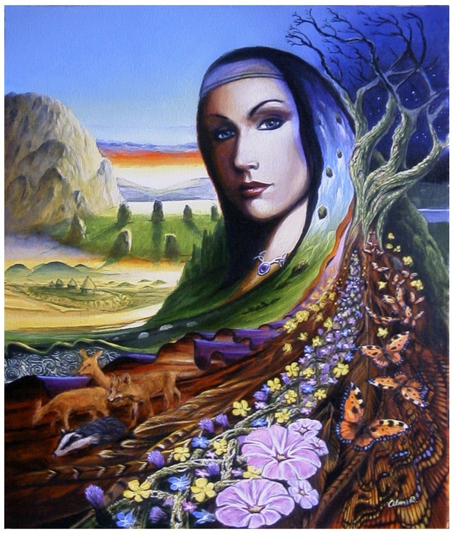 Arianrod,  Welsh  Goddess of fertility, rebirth