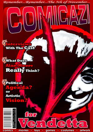 V for Vendetta Magazine Cover